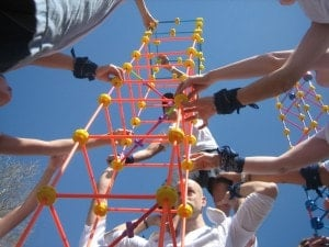 tower of power team building exercise